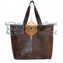 Sac Femme En Cuir Marocain